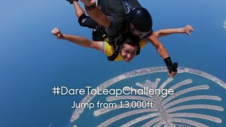 #DareToLeap Challenge | Jump from 13,000ft.