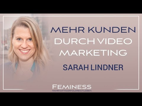 Video Marketing für dein Business | Sarah Lindner - Feminess Kongress Bonn