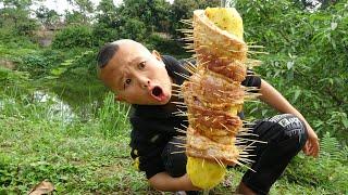 Thịt Quấn Dứa - Mao Đệ Chế Biến Ẩm Thực Cực Ngon Sin Lỗi Mao Ca Vụ Đốt Nhà