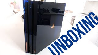 PS4 Pro 500 Million Limited Edition Unboxing (Exclusive Early Look)