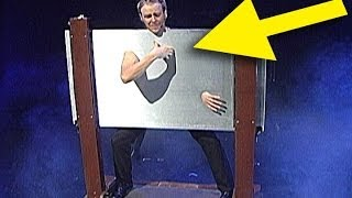 Magician walks thru steel 2016 | BEST ILLUSIONIST MAGIC TRICK