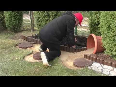 GARDEN DESIGN (42) - Budujemy fajny ogród - Białe otoczaki, kora