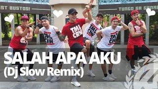 SALAH APA AKU Dj Slow Remix 2019 (Versi Gagak)   Dance Fitness   TML Crew Kramer Pastrana