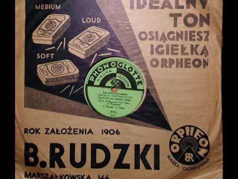 O Donna Marja-Mieczysław Fogg-Tango-1934!