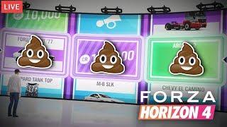 Encuentro Coches Abandonados y Tiro a la Ruleta en Directo | Forza Horizon 4