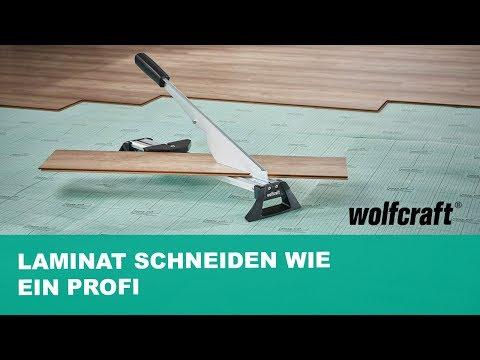 Laminat schneiden wie ein Profi: Präzise & staubfrei | wolfcraft