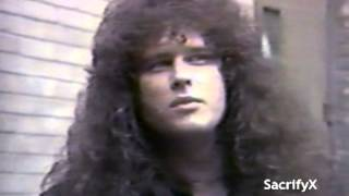 Exciter - 1984 Interview On 'The NewMusic' Canadian TV