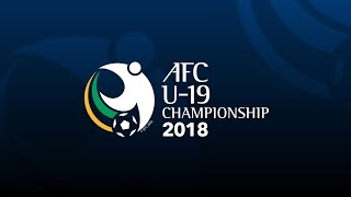 LIVE: Watch the draw of the AFCU19 Championship 2018 qualifiers