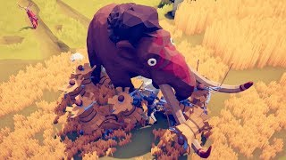 BRING IN THE MAMMOTH!! | Totally Accurate Battle Simulator (TABS)