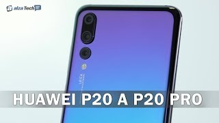 HUAWEI P20 a P20 Pro: Nejlepší fotomobily současnosti?! - AlzaTech #726