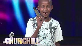 Young Juma, aspiring  actor/comedian on Churchillshow