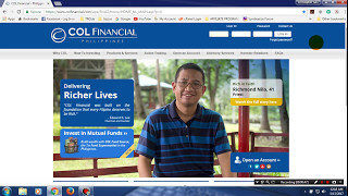 How to Open COL FINANCIAL for OFW