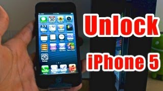 How To Unlock iPhone 5 - Works for all versions