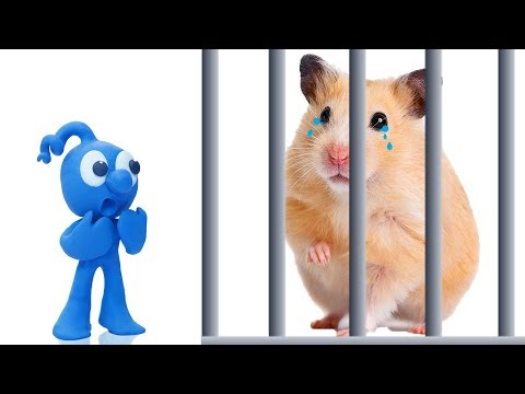 , title : 'TINY PLAY WITH PET HAMSTER MOUSE // CLAY MIXER Animation Cartoons Play Doh'