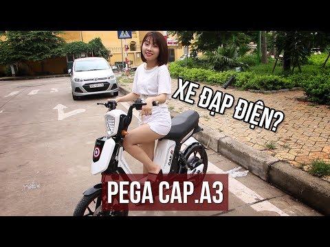 Dánh giá xe đạp điện Pega Cap A3