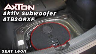 AXTON ATB20RXF Aktiv Subwoofer Der flachste Woofer ever