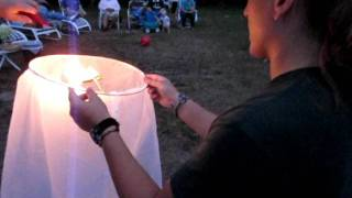 How To Light A Chinese Lantern...