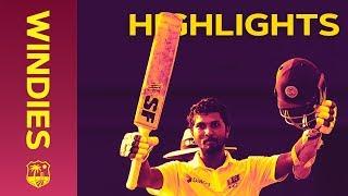 Chandimal Scores A Sensational 119 For SL - Windies v Sri Lanka 2nd Test Day 1 2018   Highlights