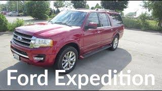 2017 Ford Expedition Limited EL SUV 3.5L V6 with EcoBoost | Full Enterprise Rental Car Review