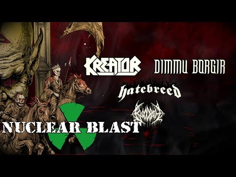 Trailer Kreator & Dimmu Borgir - The European Apocalypse Tour 2018