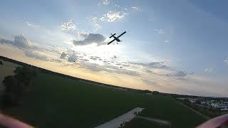 DJI FPV chasing the RC plane