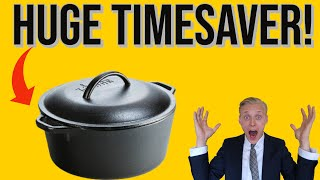 Lodge Cast Iron Dutch Oven (How To Use It✅)