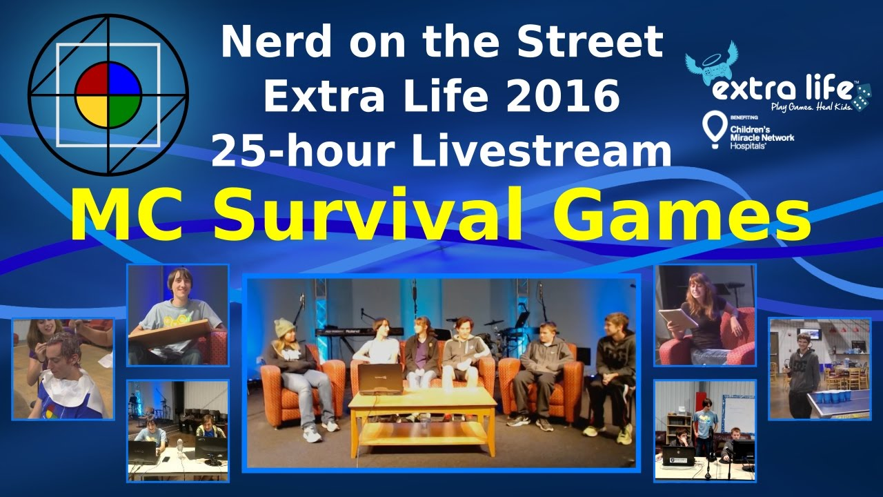 Survival Games - Extra Life 2016