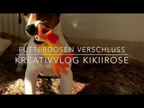 Futterdosen verschließen - KreativVlog KikiiRose