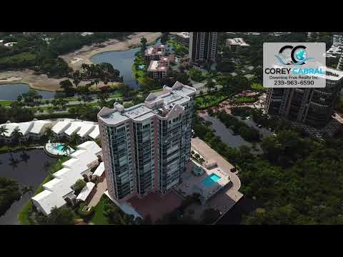 Pelican Bay St. Thomas Naples Florida 360 degree video fly over