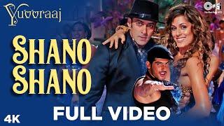Shano Shano Full Video - Yuvvraaj   Zayed Khan, Salman Khan    Sonu Nigam   A.R. Rahman   Katrina