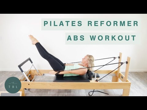 Pilates Reformer Abs Workout