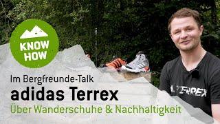 Im Bergfreunde Talk: adidas Terrex - über Wanderschuhe & Nachhaltigkeit