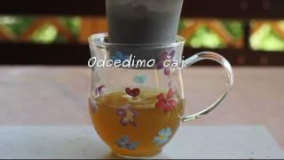 Sorbet iz zelenega čaja