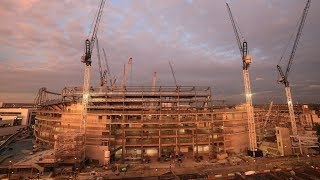 New Spurs Stadium HD Time Lapse – 9th to 15th July 2017