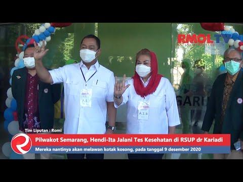 Pilwakot Semarang, Hendi-Ita Jalani Tes Kesehatan di RSUP dr Kariadi