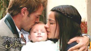 Triunfo del Amor   Alonso encuentra al pequeño Juan Pablo y lo entrega a María Desamparada