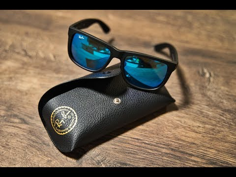 Ray Ban Justin Classic Blue Unboxing