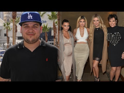 Rob Kardashian Is AVOIDING his Family After His Recent Social Media Outbursts