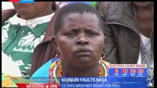 Mwangi Kiunjuri says NASA are not ready for the forth coming elections