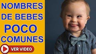 Nombres Bonitos Y Poco Comunes Para NIÑOS Que Te Encantaran !!! PARTE1