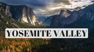 A Journey Up Yosemite Valley // Drone footage