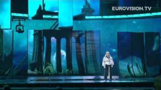 Chiara's first rehearsal (impression) at the 2009 Eurovision Song Contest