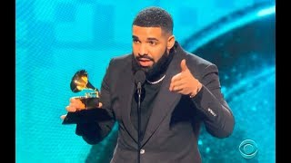 Drake Shuts Down Grammy Awards 2019 With This Acceptance Speech