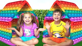 Diana and Roma - Collection of the best Challenges for kids