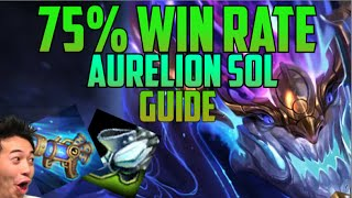 76% WIN RATE & BEST LOLSKILL AURELION SOL PLAYER BUILD GUIDE- 'Quantumfizzics' NA Challenger