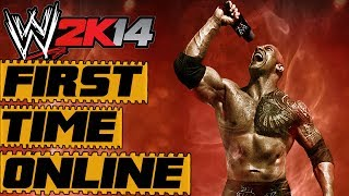 WWE 2K14 Online Match Expirience | FIRST TIME EVER!