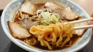 二本松市道の駅安達の、みどり湯食堂の中華そば。