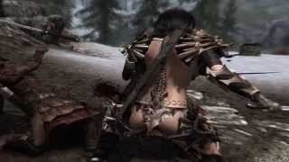 Моды на Skyrim #15 (Броня Принцессы-дракона)