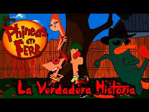 La Verdadera Historia Aterradora De Phineas y Ferb