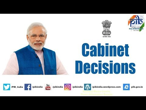 Cabinet Briefing by Union Minister Arun Jaitley